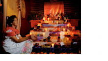 Day of the Dead ofrenda (altar)