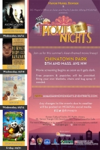 Chinatown Movie Nights Flier