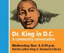 Dr. King in DC ad