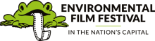 Environmental Film Festival Logo featuring a frog
