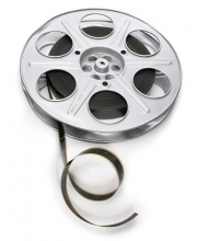 Photo of a film reel
