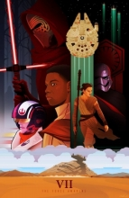 Art from Star Wars: Episode VII-the Force Awakens.