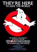 Ghostbusters movie poster.
