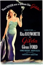Gilda movie poster.