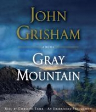A picture of a woman walking toward a gray mountain on book cover