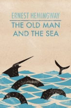 The Old Man and the Sea book cover.