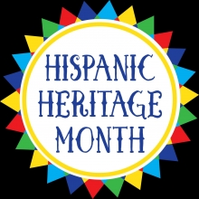 Picture of a sun for Hispanic Hertage month