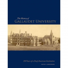 Cover of The History of Gallaudet University