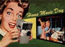 Home Movie Day postcard