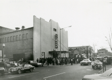 A crowd at the Howard Theater, 1970s