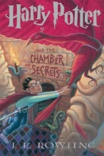 """Book cover for """"Harry Potter and the CHamber of Secrets"""" by JK Rowling"""