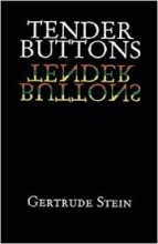 photo image of a copy of Tender Buttons by Gertrude Stein