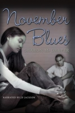 Book cover for November blues by Sharon M. Draper.