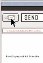 "Book cover for ""SEND : the essential guide to email for office and home"" by David Shipley and Will Schwalbe."