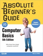 """Book cover for """"Absolute beginner's guide to computer basics"""" by Michael Miller."""