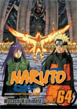 "Book cover for ""Naruto. Vol. 64, Ten tails"" story and art by Masashi Kishimoto."
