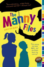 "book cover for ""The Manny files"" by Christian Burch."