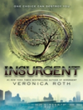 Insurgent by Veronica Roth book cover.