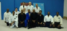 Photo of All Traditional Ju-Jitsu Society, including instructor Guy Haymon