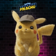 a CGI rendered Pikachu, a yellow mouselike creature, smiles at the viewer
