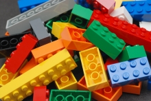 Assorted LEGO bricks