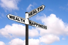 Signpost for direction in career planning and in life