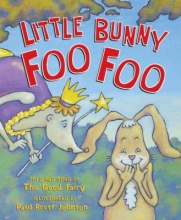 Book cover for Little Bunny Foo Foo by Paul Brett Johnson