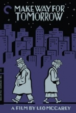 Make Way for Tomorrow Film Cover