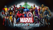 an image of assorted Marvel heroes such as Iron Man, Captain America, and Black Widow
