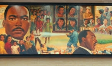 Mural at the Martin Luther King, Jr. Memorial Library, Washington DC