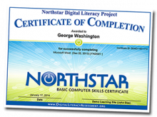 NorthStar Certificate of Completion