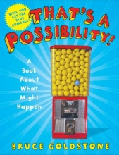 Book cover with a gumball machine