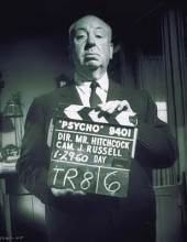 Hitchcock, master of suspense and mystery.