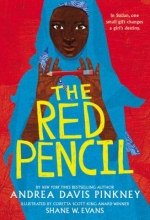 book cover for The Red Pencil