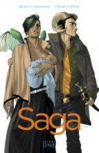 Saga, Volume One by Brian K. Vaughan and Fiona Staples