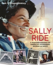 "Image of book cover for ""Sally Ride : a photobiography of America's pioneering woman in space"""