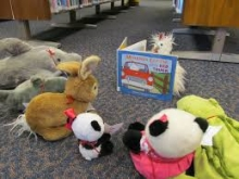 Stuffed animal story time