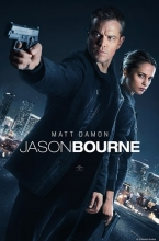 Film poster for Jason Bourne, showing the title character