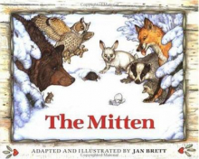 Cover of Jan Brett's The Mitten