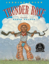 bookcover of thunder rose