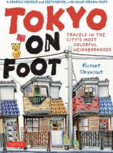 Cover for Tokyo on Foot by Florent Chavouet