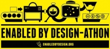 Enabled by Design-athon: DC Edition by United Cerebral Palsy Life Labs Logo