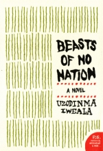 Beasts of No Nation book cover.