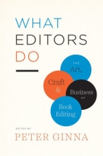 Diamond Newman ReadFeed What Editors Do edited by Peter Ginna