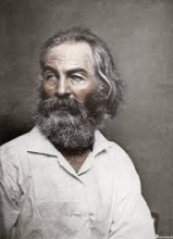 Photo of American poet Walt Whitman