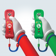Wii controllers