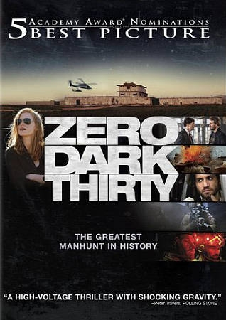 Zero Dark Thirty DVD cover.