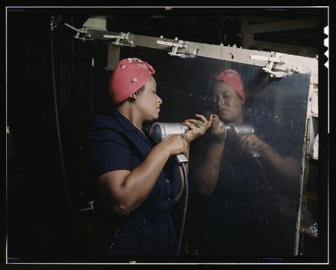 Image of Woman Working