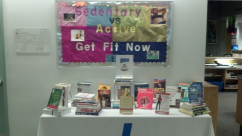 Picture of a book display