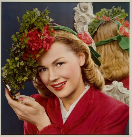 Image of Woman with Floral Crown